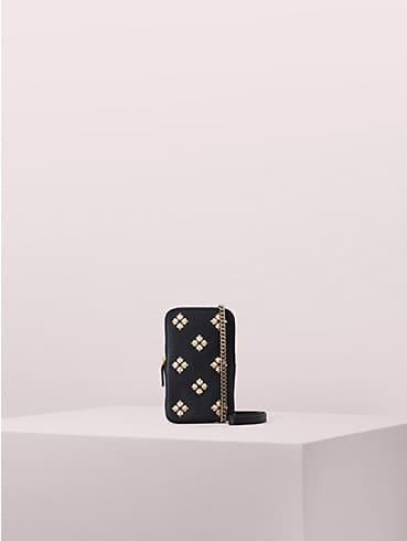 Längliche Margaux Handy-Umhängetasche mit Emaille-Pik, , rr_productgrid