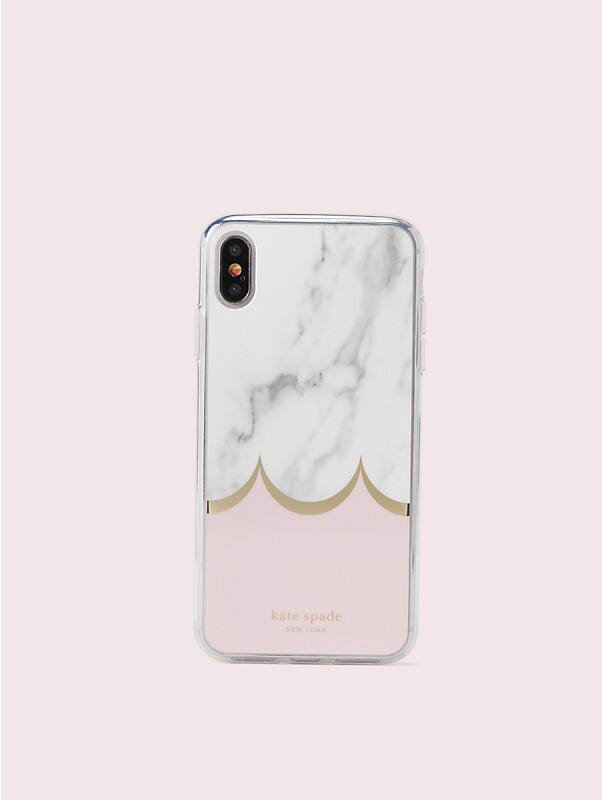 marble scallop iphone xs max case, , rr_large