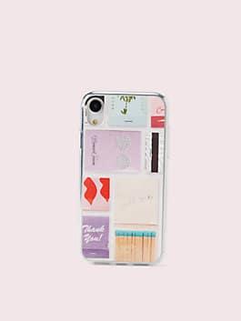 matchbooks iphone xr case, multi, medium