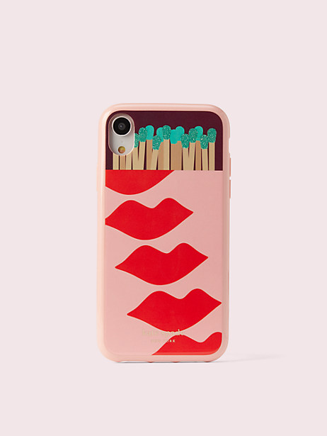 matchbox iphone xr case by kate spade new york