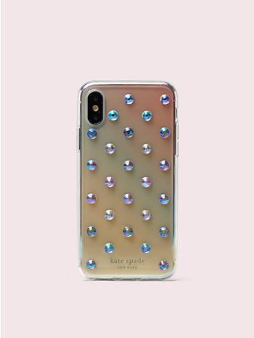 ombre lia dot iphone x & xs case, , rr_productgrid