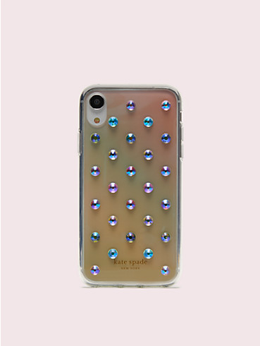 ombre lia dot iphone xr case, , rr_productgrid