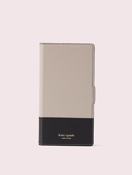 sylvia iphone xs max magnetic wrap folio case by kate spade new york