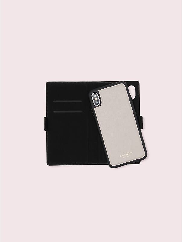 sylvia iphone x & xs magnetic wrap folio case, , rr_large