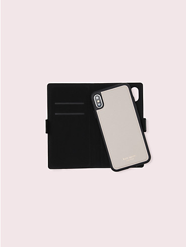 sylvia iphone x & xs magnetic wrap folio case, , rr_productgrid