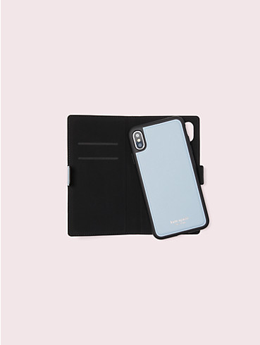 sylvia iphone x & xs magnetic wrap folio case, , rr_productgrid