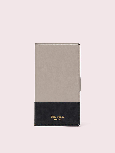 sylvia iphone xr magnetic wrap folio case by kate spade new york