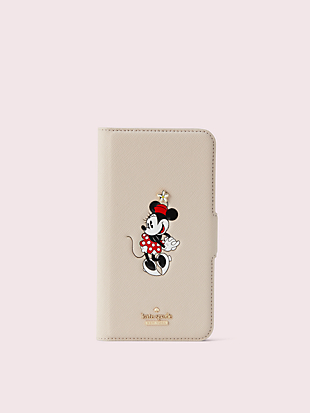 kate spade new york x minnie mouse iphone xr folio case by kate spade new york non-hover view