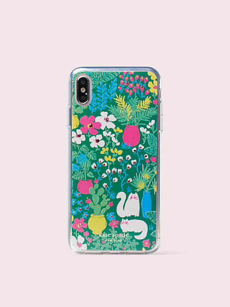 jeweled garden posy iphone xs max case by kate spade new york