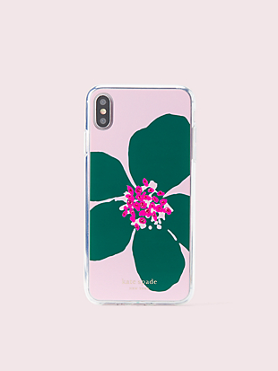 jeweled grand flora iphone xs max case by kate spade new york non-hover view