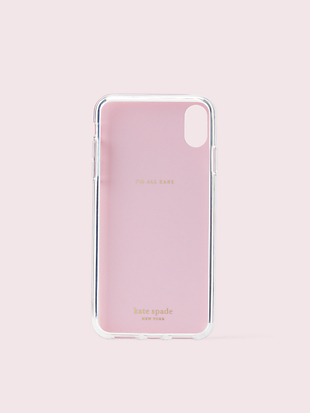 jeweled grand flora iphone xs max case by kate spade new york hover view