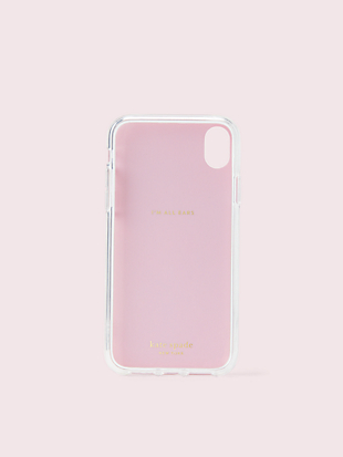 jeweled grand flora iphone xr case by kate spade new york hover view