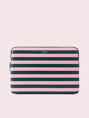 sylvia stripe universal laptop sleeve, , rr_productgrid