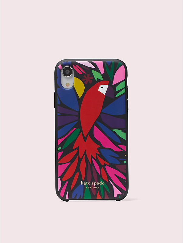papercut parrot iphone xr case , , rr_large