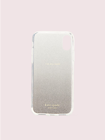 glitter ombré iphone xs case, , rr_productgrid