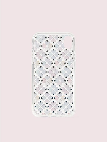 foil spade iphone xr case, , rr_productgrid
