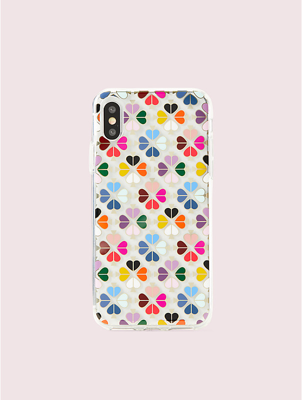 foil spade iphone xs case, , rr_large