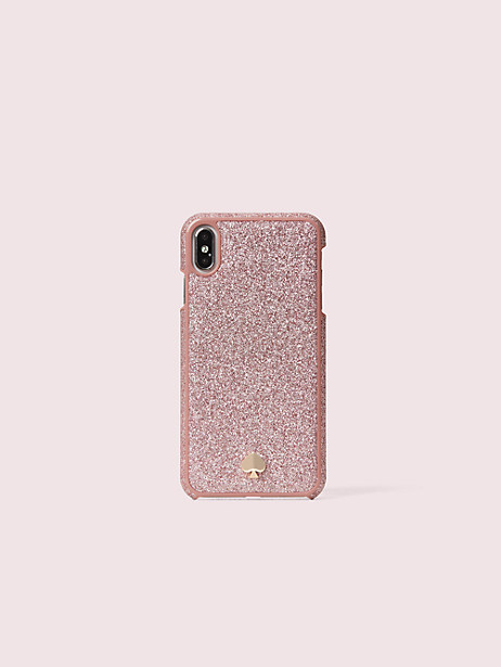 glitter inlay iphone xs max case by kate spade new york