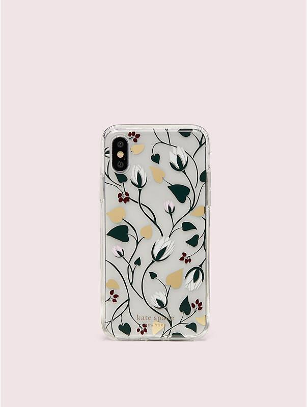 deco bloom clear iphone x & xs case, , rr_large