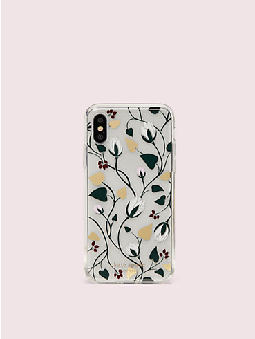 deco bloom clear iphone x & xs case, , rr_productgrid