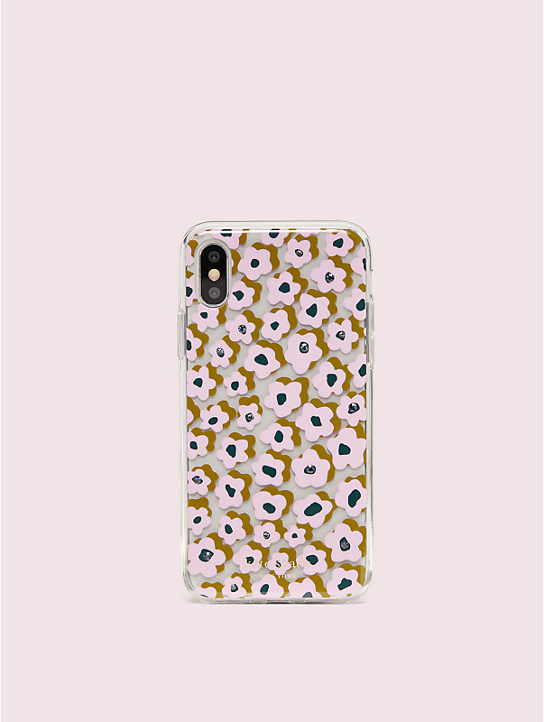 jeweled flair flora iphone x & xs case, , rr_large