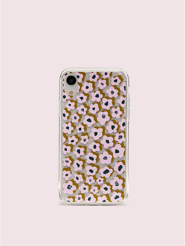 jeweled flair flora iphone xr case, , rr_large