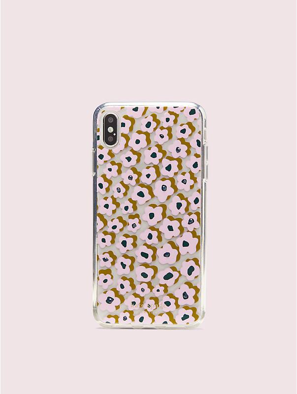 jeweled flair flora iphone xs max case, , rr_large