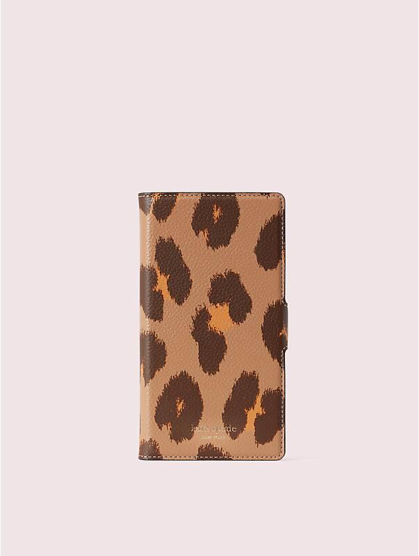 margaux leopard iphone xs max magnetic folio case, , rr_large