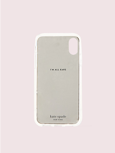 mirror spade clover toss iphone xs case, , rr_productgrid