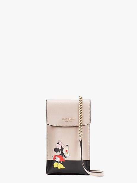 kate spade new york for minnie mouse north south flap phone crossbody by kate spade new york