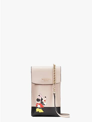 kate spade new york for minnie mouse north south flap phone crossbody, , rr_productgrid