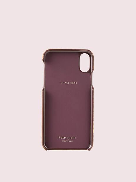 Snake embossed iphone xs case | Kate Spade New York