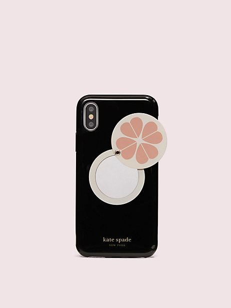 Spade swivel mirror iphone x & xs case | Kate Spade New York