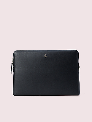 polly laptop sleeve with strap by kate spade new york non-hover view