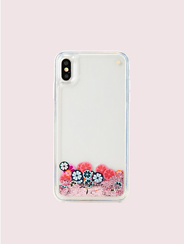spade flower liquid glitter iphone xs max case, , rr_productgrid