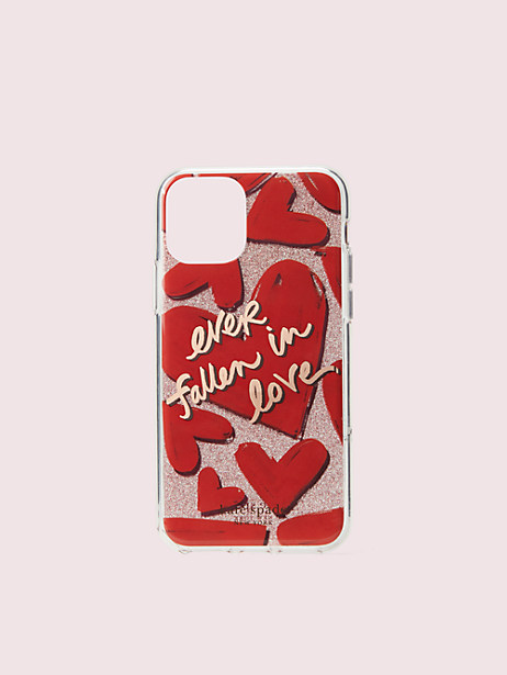 ever fallen in love iphone 11 pro case by kate spade new york