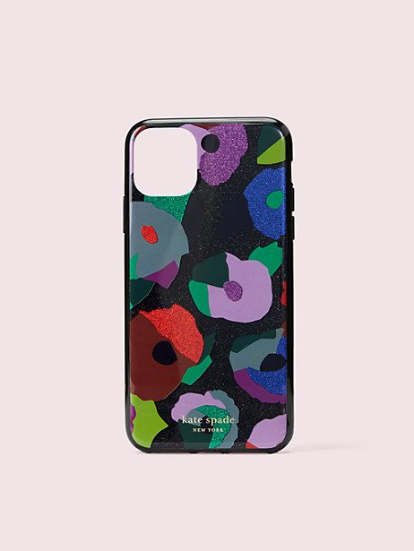 glitter floral collage iphone 11 pro max case by kate spade new york