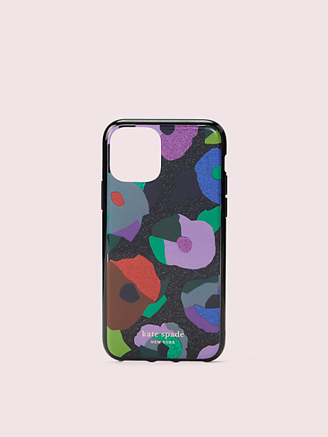 glitter floral collage iphone 11 pro case by kate spade new york