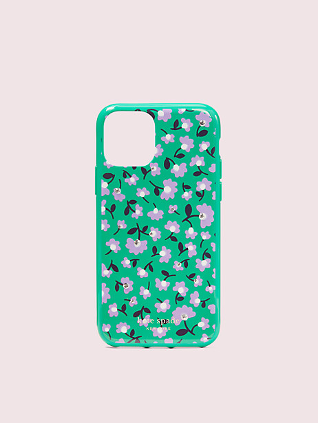 jeweled party floral iphone 11 pro case by kate spade new york