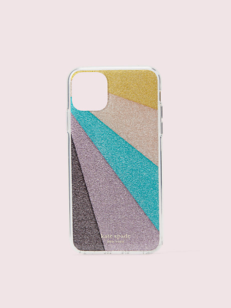 radiating glitter iphone 11 pro max case by kate spade new york
