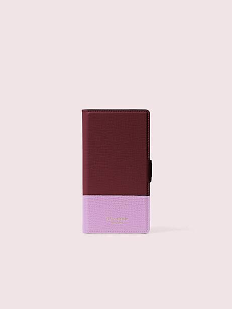 Sylvia iphone 11 pro magnetic wrap folio case   Kate Spade New York