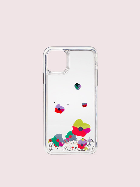 collage liquid glitter iphone 11 pro max case by kate spade new york