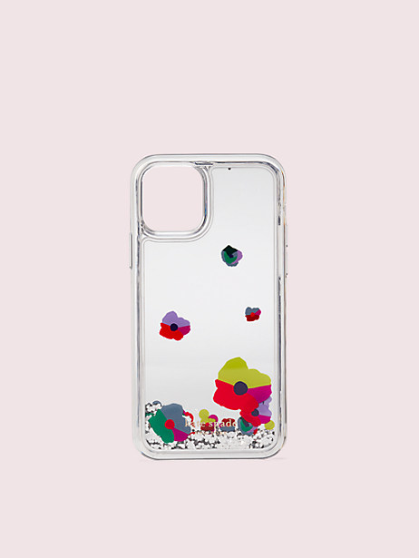 collage liquid glitter iphone 11 pro case by kate spade new york