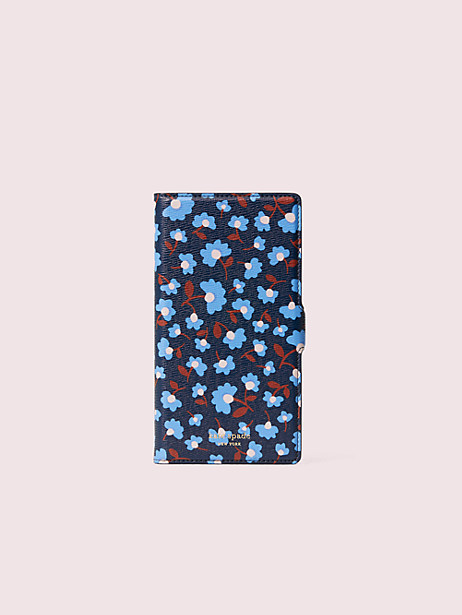 sylvia party floral iphone 11 pro max magnetic wrap folio case by kate spade new york