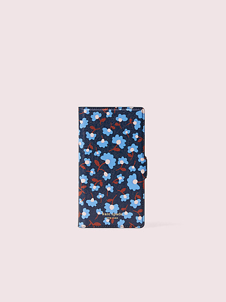 sylvia party floral iphone 11 pro magnetic wrap folio case by kate spade new york