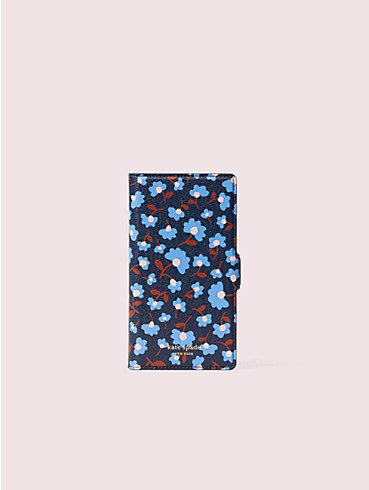sylvia party floral iphone 11 pro magnetic wrap folio case, , rr_productgrid