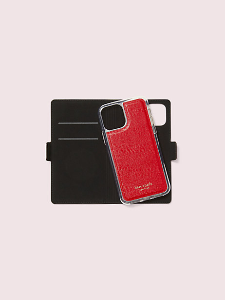 Kate spade new york x tom & jerry iphone 11 pro magnetic wrap folio case   Kate Spade New York