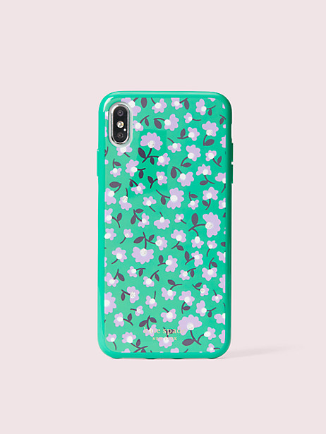 jeweled party floral iphone xs max case by kate spade new york