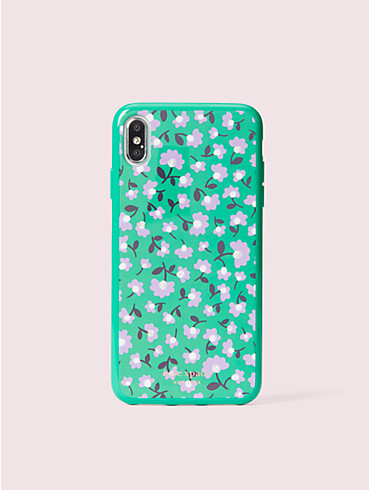 jeweled party floral iphone xs max case, , rr_productgrid