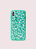 jeweled party floral iphone xs max case, , s7productThumbnail